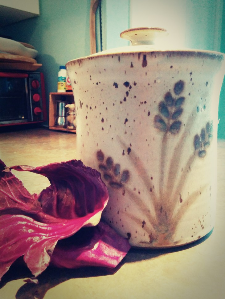 Pot de grès pour choucroute